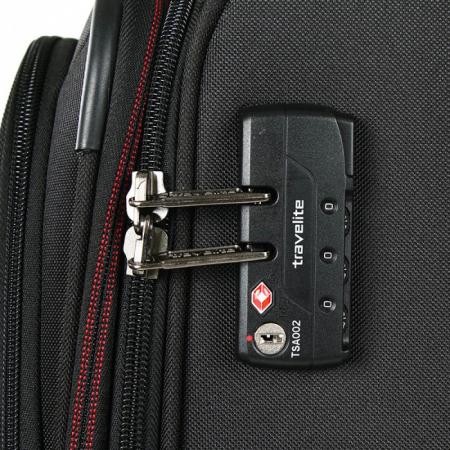 Troler Travelite KENDO 4 roti 66 cm M5