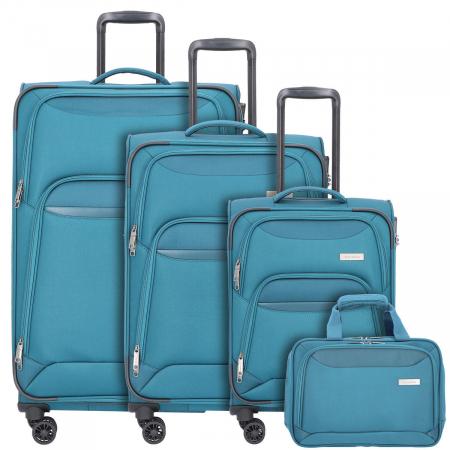 Set trolere Travelite KENDO 4 roti L extensibil/M extensibil/S0