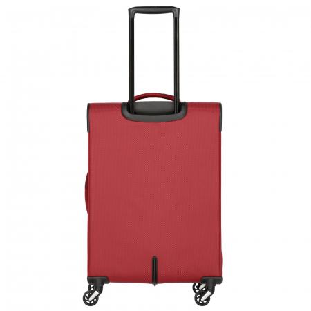 Troler Travelite KITE 4 roti 64 cm M extensibil