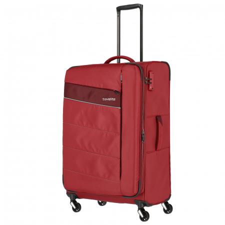 Troler Travelite KITE 4 roti 75 cm L extensibil5