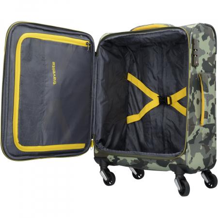 Troler Travelite KITE 4 roti 54 cm S3