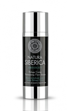Serum revitalizant antiage cu acid hialuronic si Beluga Caviar, 30 ml - Natura Siberica