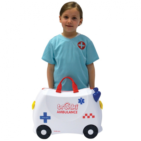 Valiza TRUNKI Abbie the Ambulance7