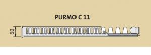 Radiator panou PURMO COMPACT 11-600-400 1