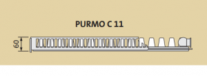 Radiator panou PURMO COMPACT 11-600-1000 1