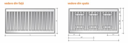 Radiator panou PURMO COMPACT 11-600-9003