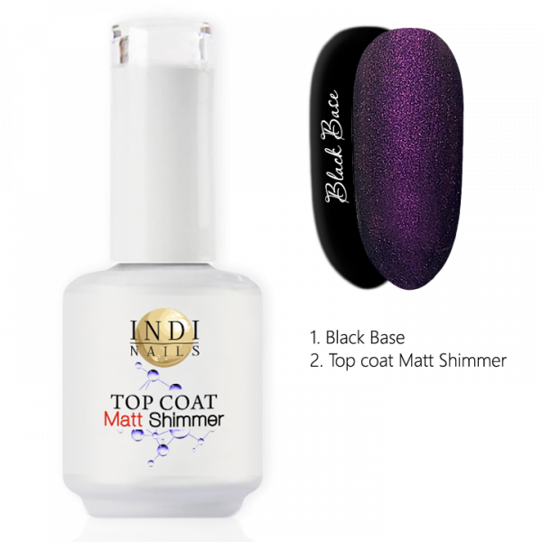 Top coat Matt Shimmer – 005 0