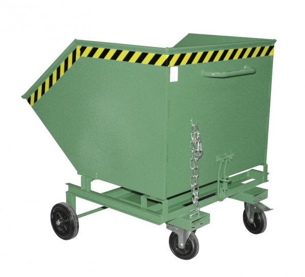 Container basculant KW-ET-1000 cu buzunare auto [0]