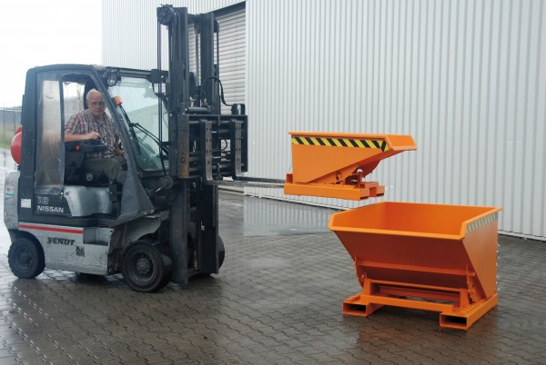 Container basculant stivuitor Expo 300, 0.3mc [3]