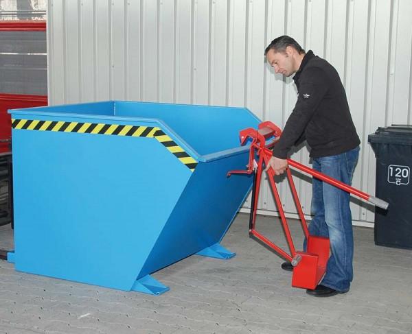 Dispozitiv pivotant SV 1500 pentru bascularea containerelor [2]