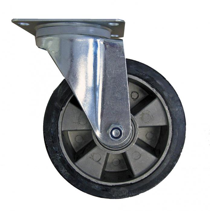 Roată aluminiu cu cauciuc RO-AL [1]