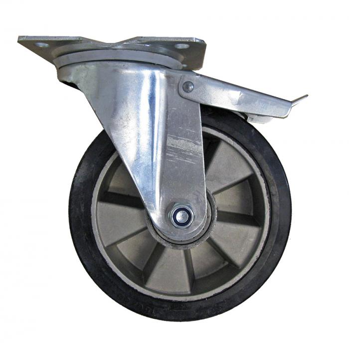 Roată aluminiu cu cauciuc RO-AL [2]
