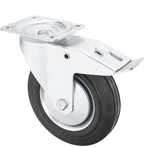 Roată oțel cu cauciuc RO-C [2]