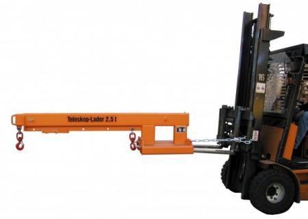Brat telescopic stivuitor KT-2500 kg [5]
