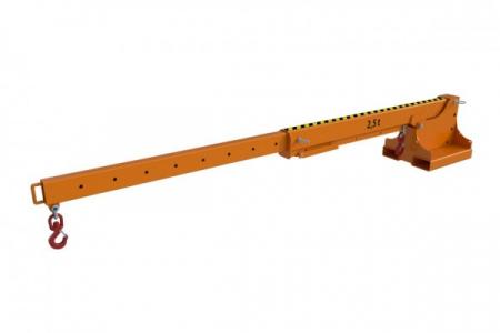 Brat telescopic stivuitor KTH-2500 kg [0]