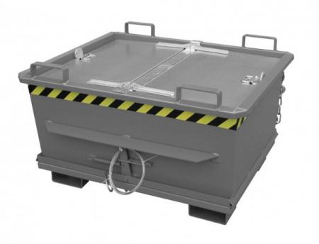 Capac pentru containerul cu fund articulat BKB [1]