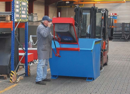 Dispozitiv pivotant SV 1500 pentru bascularea containerelor [3]