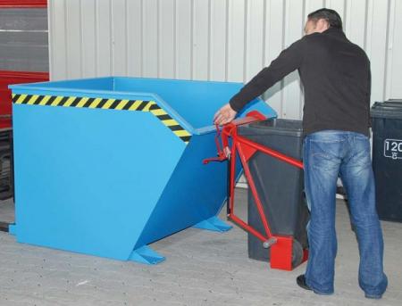 Dispozitiv pivotant SV 1500 pentru bascularea containerelor [1]