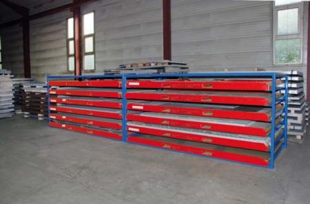 Raft pentru casete din tabla tip KBR-1 [1]