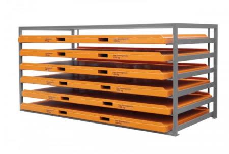 Raft pentru casete din tabla tip KBR-3 [2]
