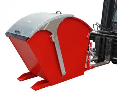 Recipient basculant cu capac rotund tip RD-750 [1]
