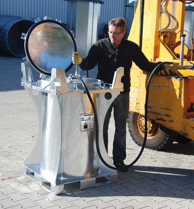 Rezervor mobil pentru combustibili MT-235 [0]
