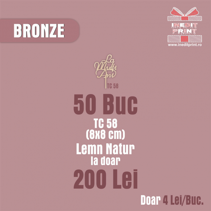 Bronze Pack - 50 Bucăți 0