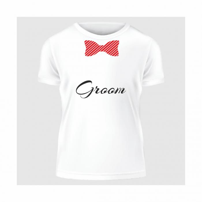 Tricou Groom (Pentru bărbați) 0