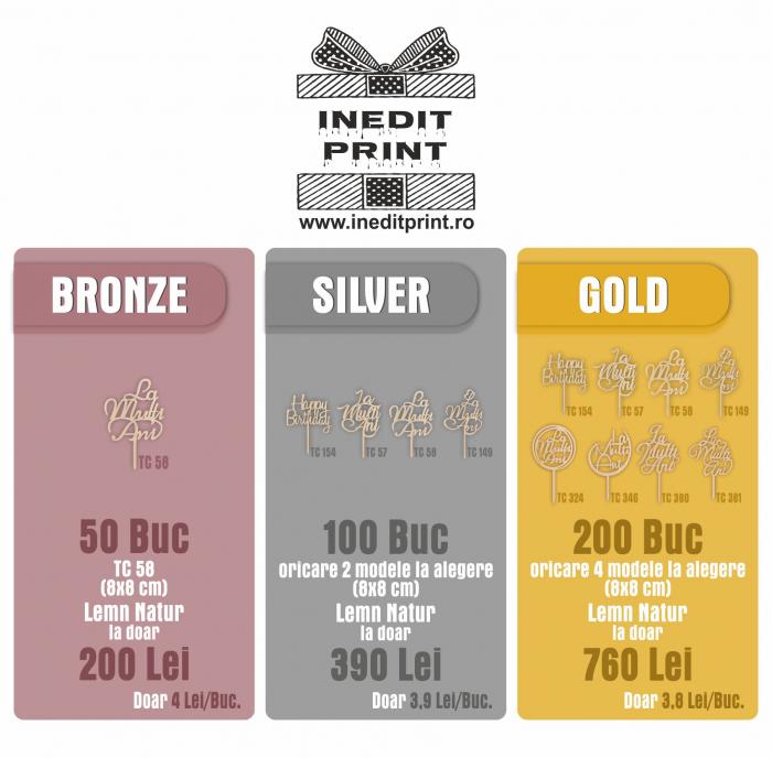 Bronze Pack - 50 Bucăți 1