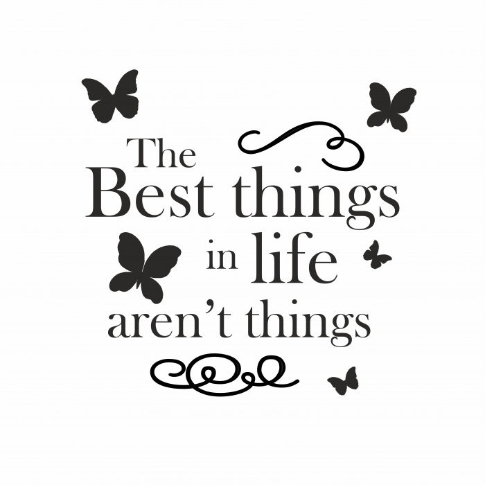 Sticker The best things SP16 1