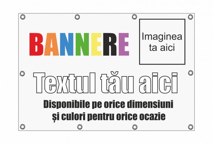 Banner Blockout + Imagini 80x50 cm 1