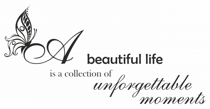 Sticker beautiful life SP9 1