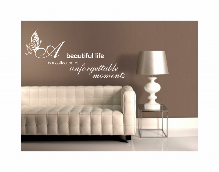 Sticker beautiful life SP9 0