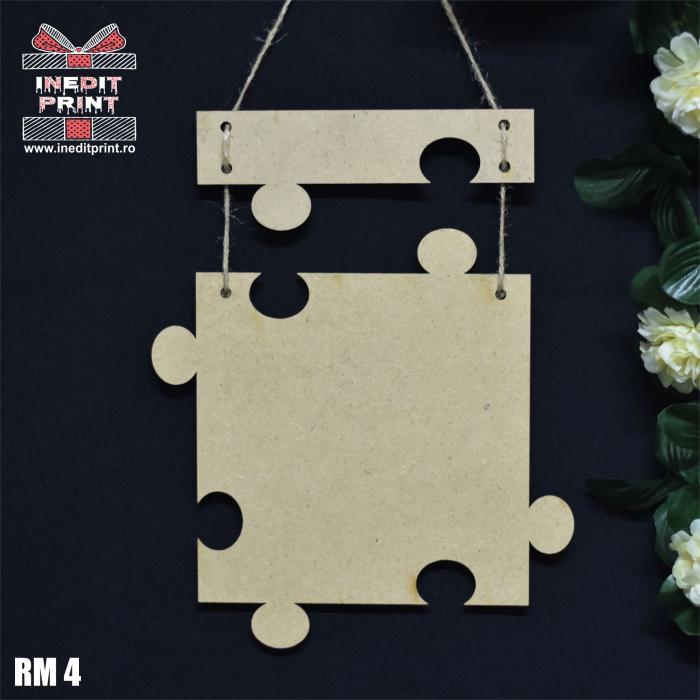 Decorațiune  personalizată  puzzle RM4 3
