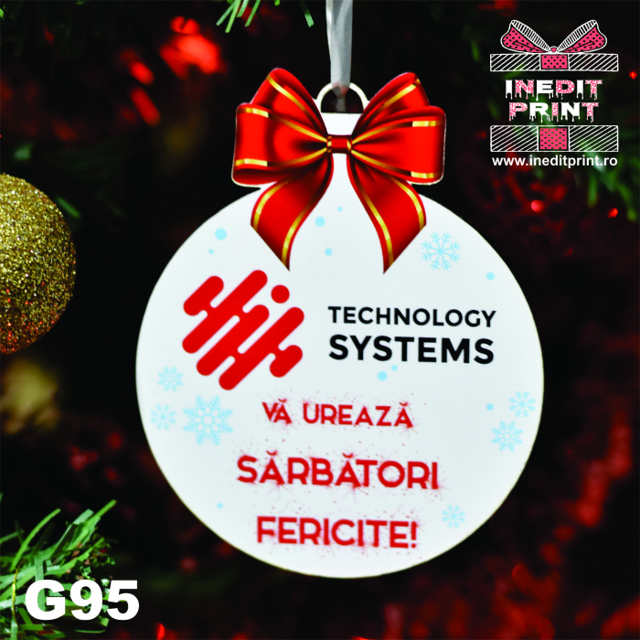 "Set Glob personalizat ""COMPANY UV"" G95 0"