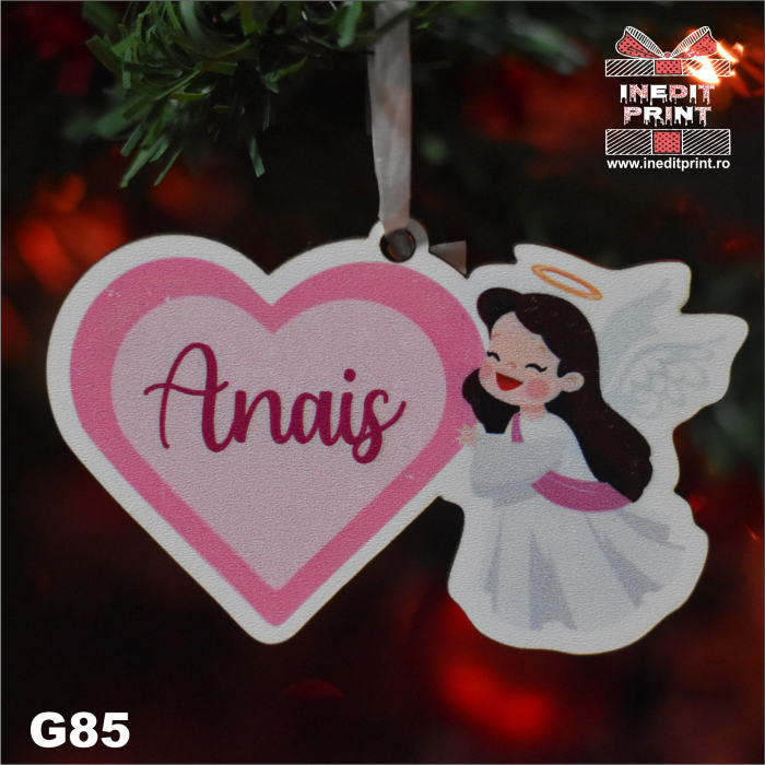 "Glob personalizat ""Angel"" G85 3"