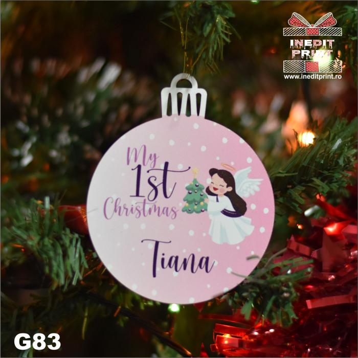 Glob ''My first Christmas'' G83 0