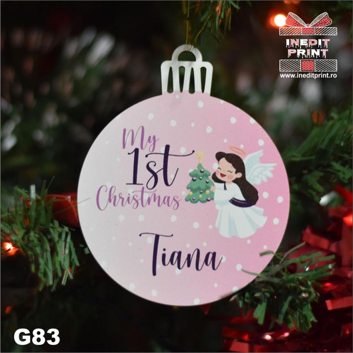 Glob ''My first Christmas'' G83 1