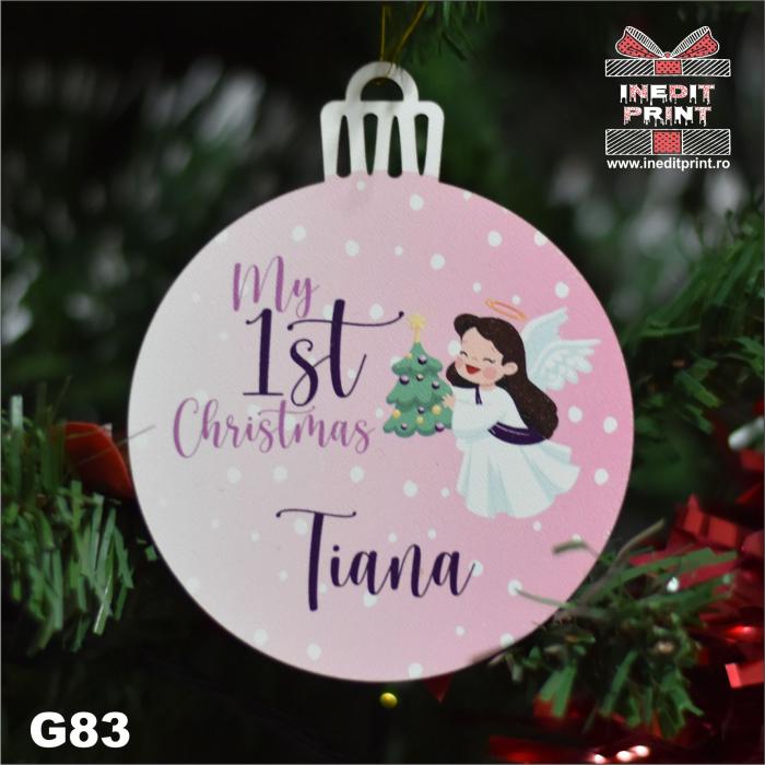 Glob ''My first Christmas'' G83 2