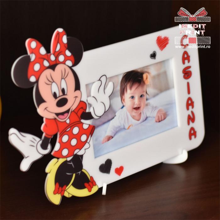 Ramă foto personalizată Minnie Red RFP3 2