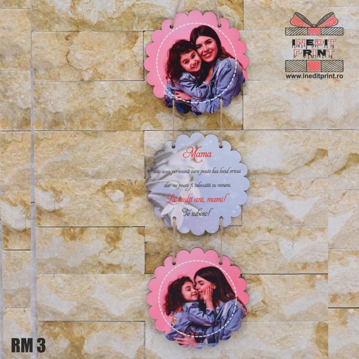 Ramă foto personalizată flower  RM3 3