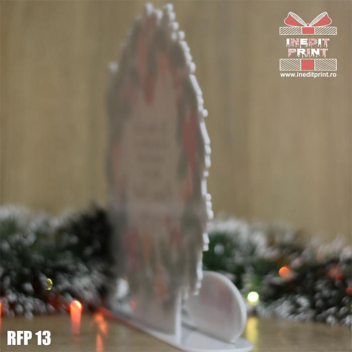 Decoratiune Craciun personalizata REINDEER RFP13 3