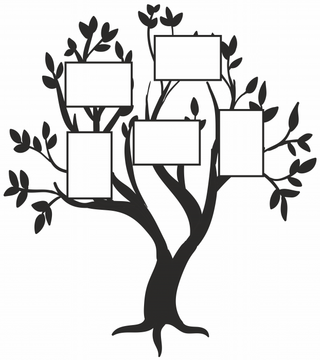 Sticker Copacul familiei SP21 1