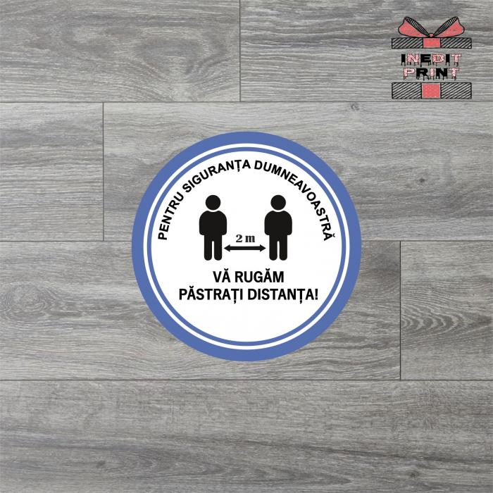 Sticker Pastreaza distanta SCM11 0