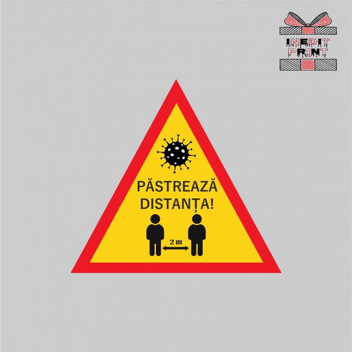 Sticker Pastreaza distanta SCM16 0