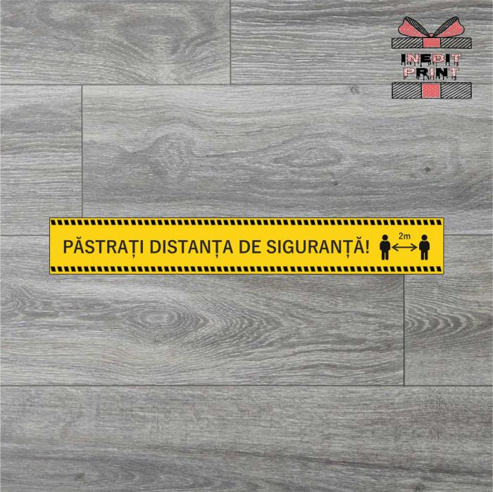 Sticker Pastreaza distanta SCM6 0