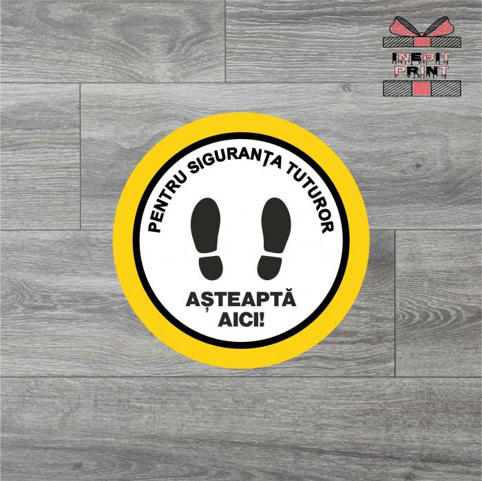 Sticker Pastreaza distanta SCM9 0