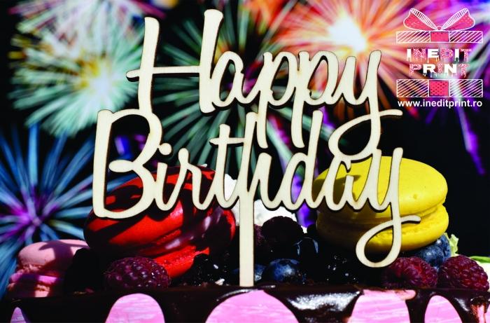 Topper Tort  Happy Birthday TC154 1