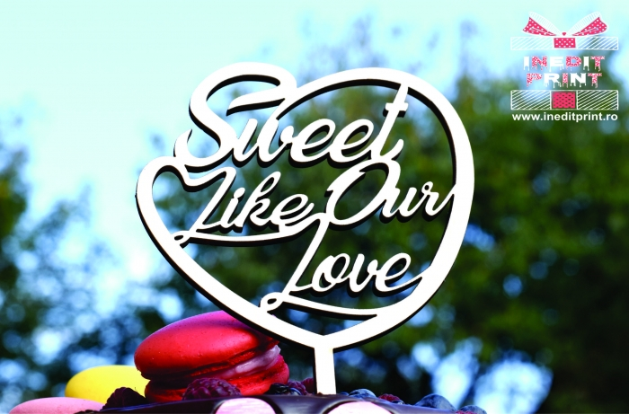 Topper Tort  Sweet like our love TC148 [3]