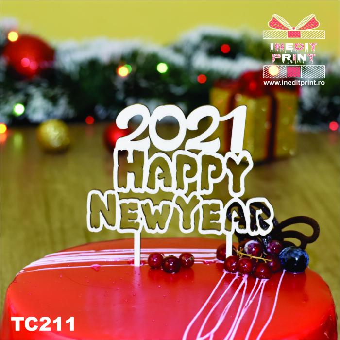 Topper tort Happy New Year TC211 2